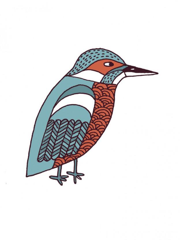 Lovebirds Type: Kingfisher